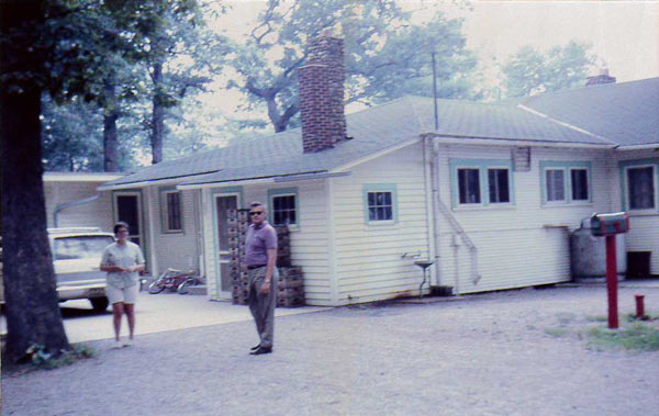 Camp Woodbury lodge in the '60's