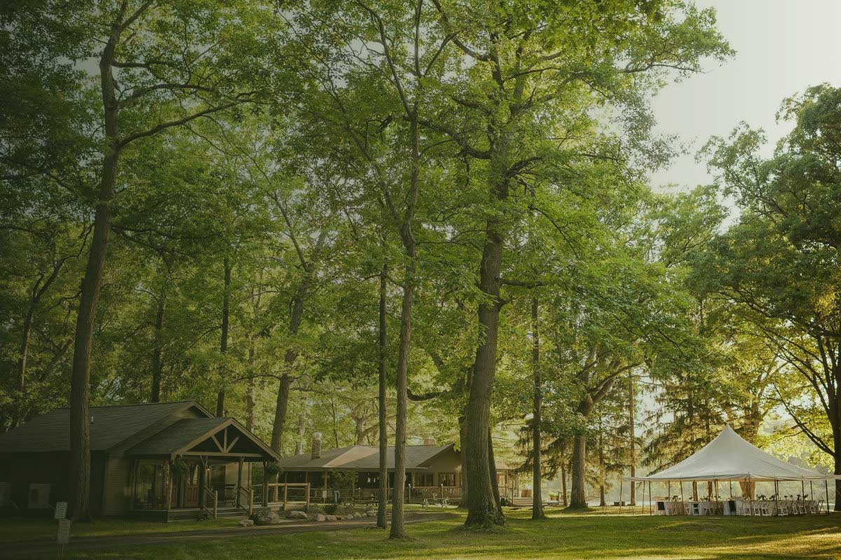 Camp Woodbury grounds