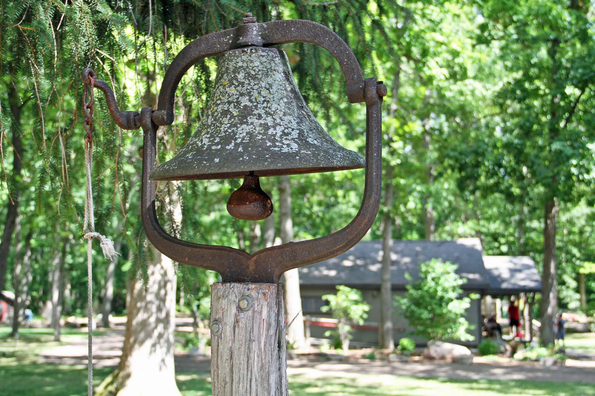 Camp Woodbury bell